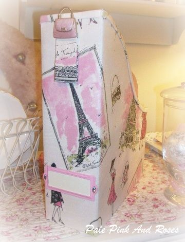 Waverly Tre Chic Fabric Magazine Organizer ~ 1
