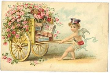 Valentine clip art cherub