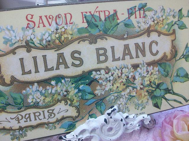 Savon Extra - Fin Lilas Blanc ~ 1