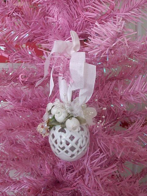 Ornament Swap ~ Kim ~ Rose Blossom Cottage